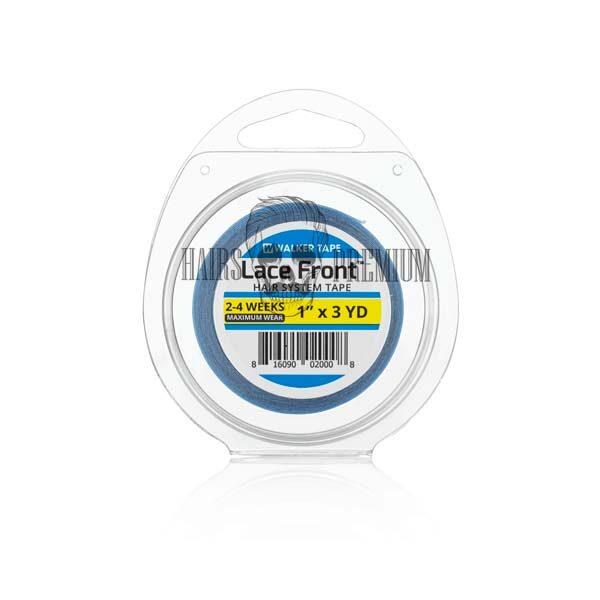 cinta adhesiva lace front azul para malla francesa