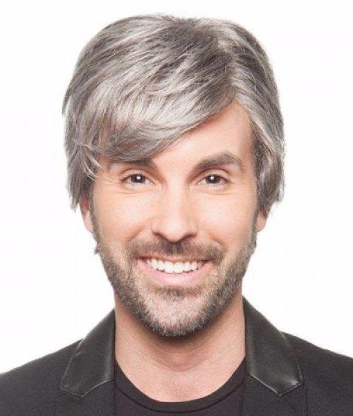 peluca para hombre