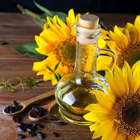 Aceite de oliva o de girasol para crecimiento de cabello desde la raíz