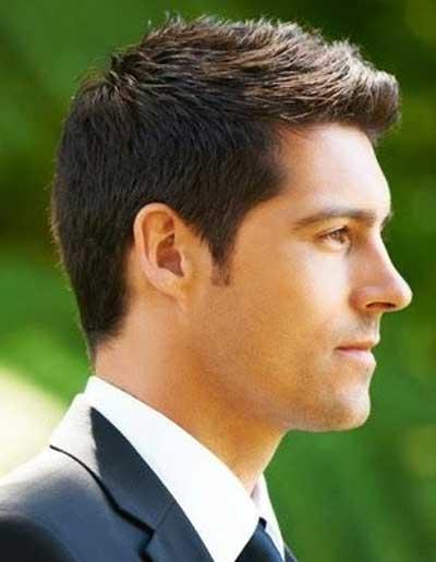 Peinados cortos para hombres sencillos
