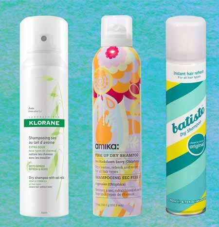 dry shampoo para la caida del cabello