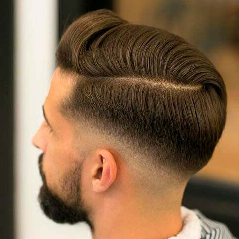 Classic Men's Haircuts with Undercut
