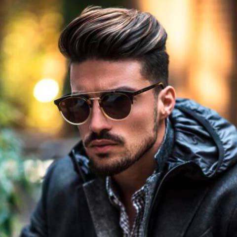 Classy Men Undercut Hairstyle