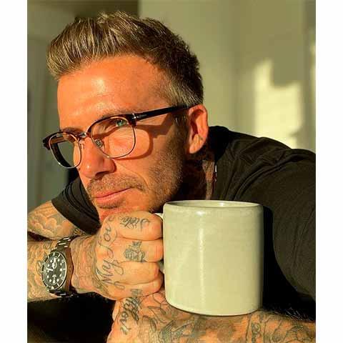 tupé en Beckham